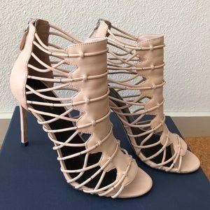 Pour La Victoire Elaina Stiletto Bootie Sandals